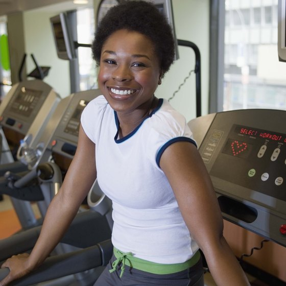 A treadmill is a convenient and effective fitness tool.