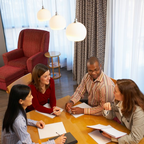 Meeting with a team can motivate independent salespeople to excel.