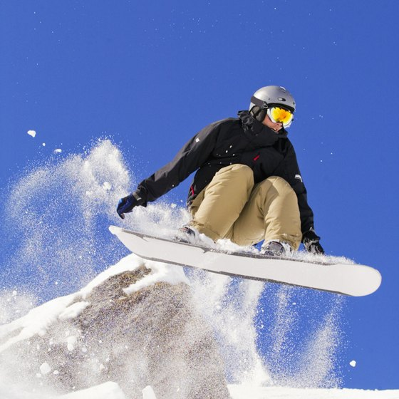 Exercise for snowboarding in phases.