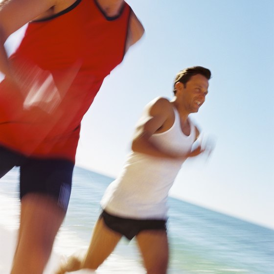Lightweight clothing can keep you from overheating while running.