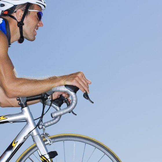 Cyclists require more total calories than the average person.