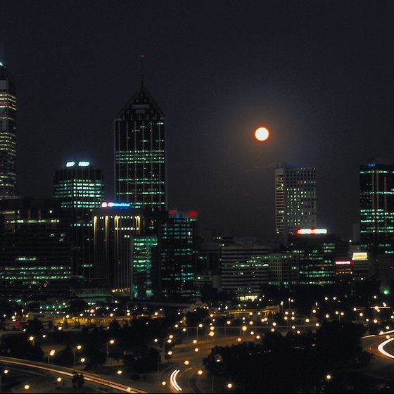 Perth is the capital of Western Australia.