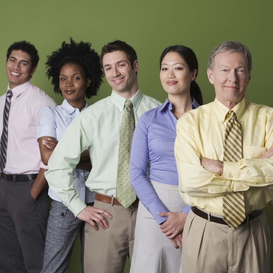 Staff your orgainization with people from diverse backgrounds.