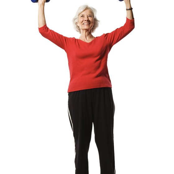 Dumbbells come in a variety of light weights, making them suitable to those new to freeweights.