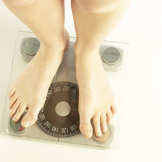 You might need fewer calories to maintain your weight after age 40.