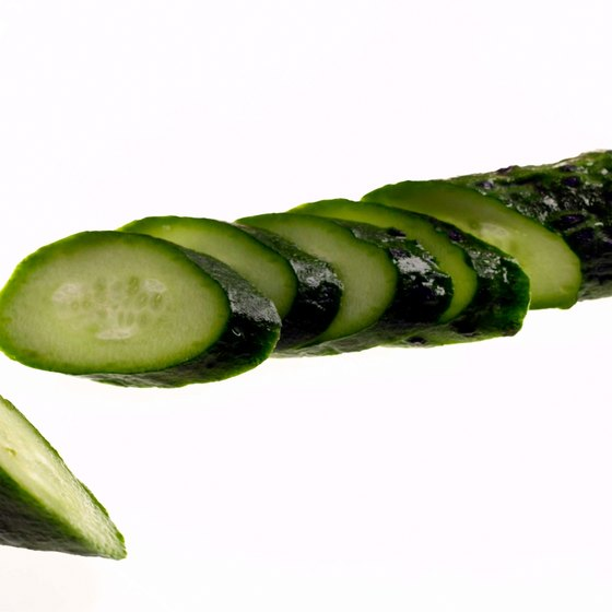 Cucumber is a source of lysine, but not a particularly rich one.