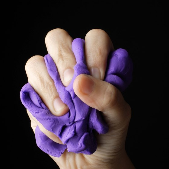 Putty and clay are great tools for building finger strength.