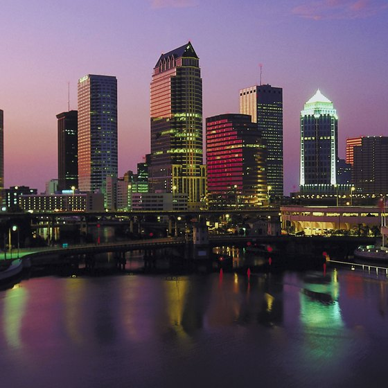 Tampa is a major financial and commercial business hub in Florida.