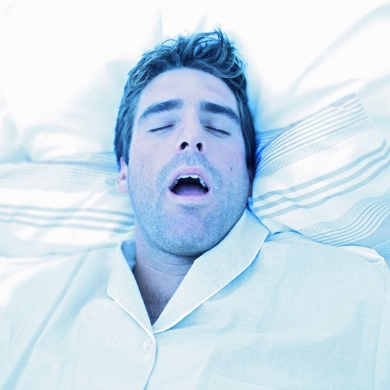 Snoring can be cured by weight loss in some cases.