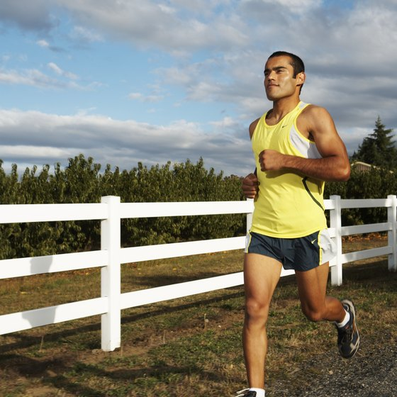 Sweating when running can lead to potassium losses.