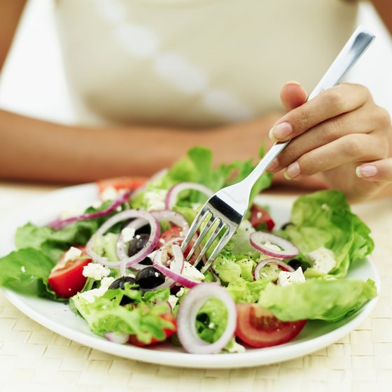 Cut back on three things in your diet -- calories, calories, calories.