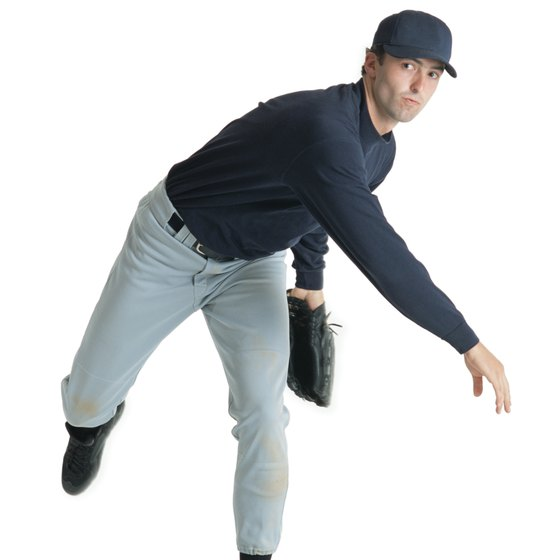 Pitchers warm up their arms and shoulders before ever throwing a ball.