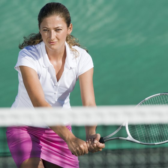 Playing tennis can be a very effective method of relieving stress.