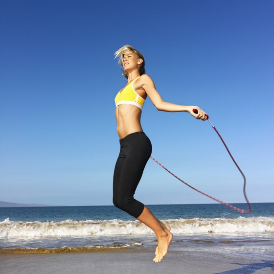 Jumping rope is one way to engage in a surge workout.