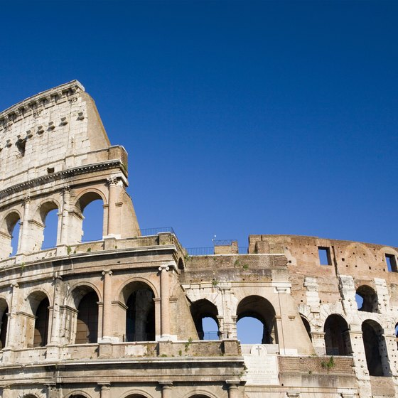 Built between AD 72 and 80, the Colosseum in Rome is on any list of must-see European sites.