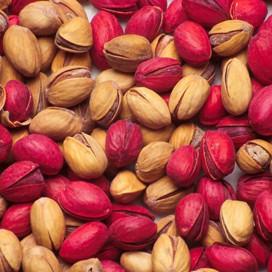 Pistachios provide potassium and essential fatty acids.
