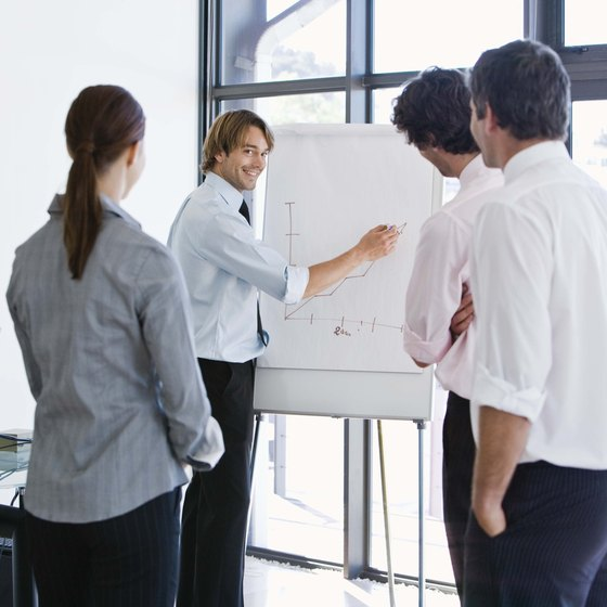 Organization and enthusiasm enhance a marketing plan presentation.