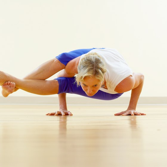 Eight-Angle pose is categorized as an arm balance pose.