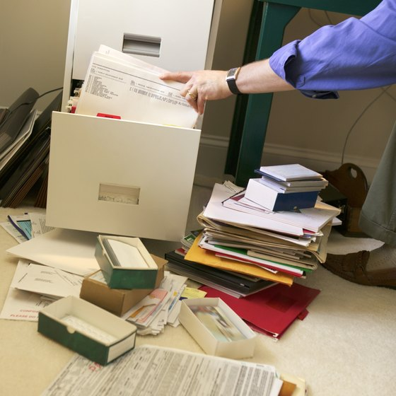 Commercial renter's insurance covers papers as well as equipment.