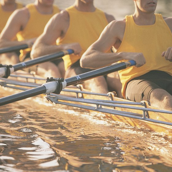 Rowing is demanding on the cardiovascular system.