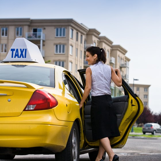 A taxi company's income may or may not depend on how many passengers it transports.