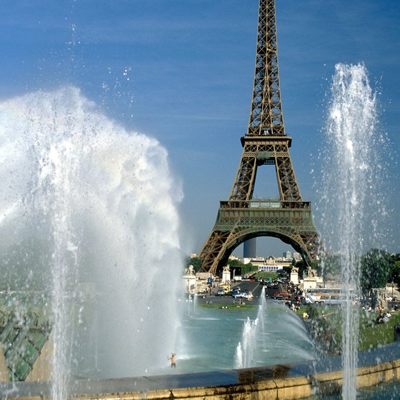 The Eiffel Tower was built for the 1889 World's Fair.