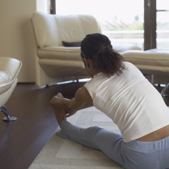 Stretching your hamstrings can help to relieve back pain.