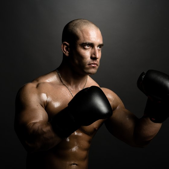 Boxers lose more weight in bouts than sparring.