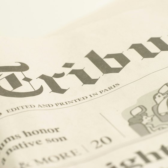Community newspapers can generate revenue in a variety of different ways.