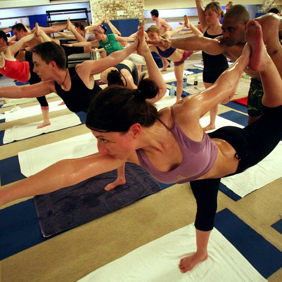 There are pros and cons when it comes to doing Bikram yoga while on your period.