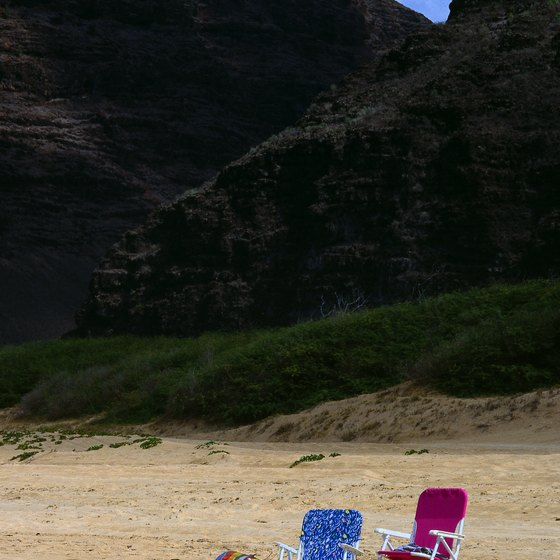 Some of Kauai's beaches offer seclusion.