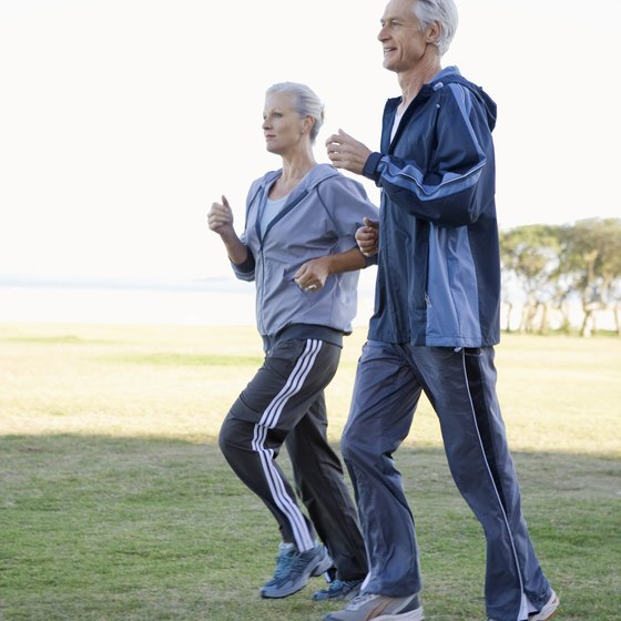 You can take up running at any age, as long as your joints are healthy.