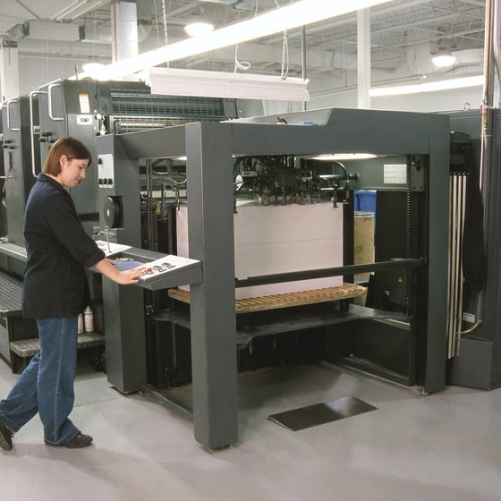 Wide format printers aren't just needed by the graphics or publishing industry.