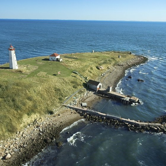Connecticut's shoreline provides fishing, swimming and the occasional lighthouse.