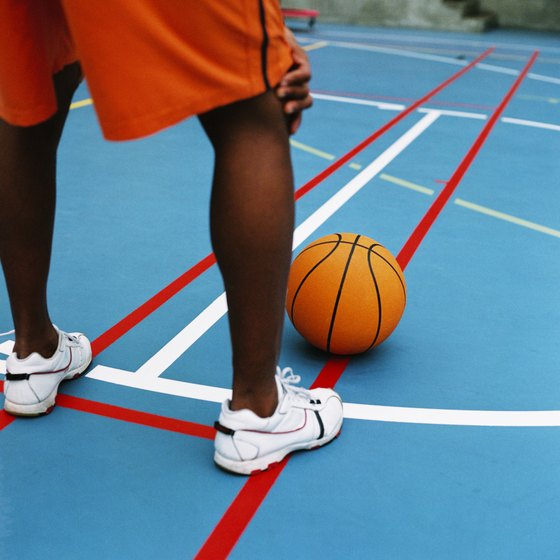 Low-top basketball shoes help you stay agile on the court.
