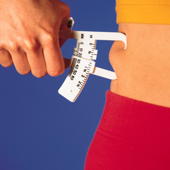 Ask a trained professional to measure your body fat.