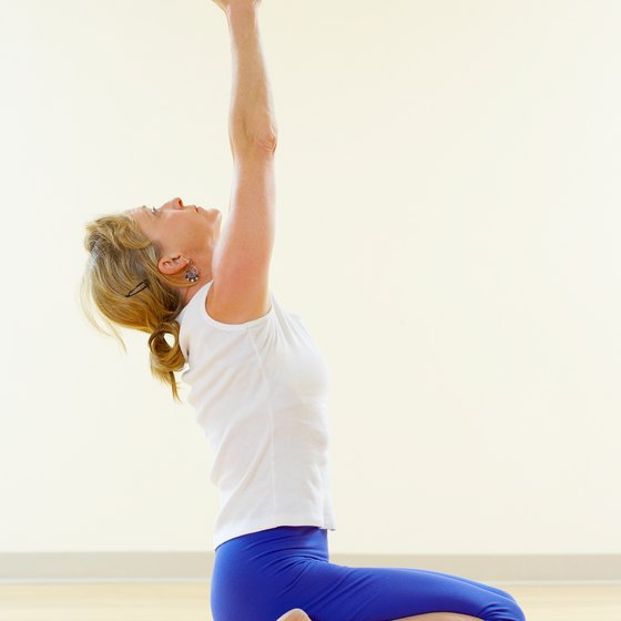 Yoga postures such as Hero's pose may help reduce bloating.