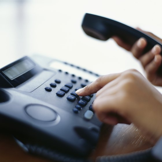 Phone systems let you easily route and track calls.