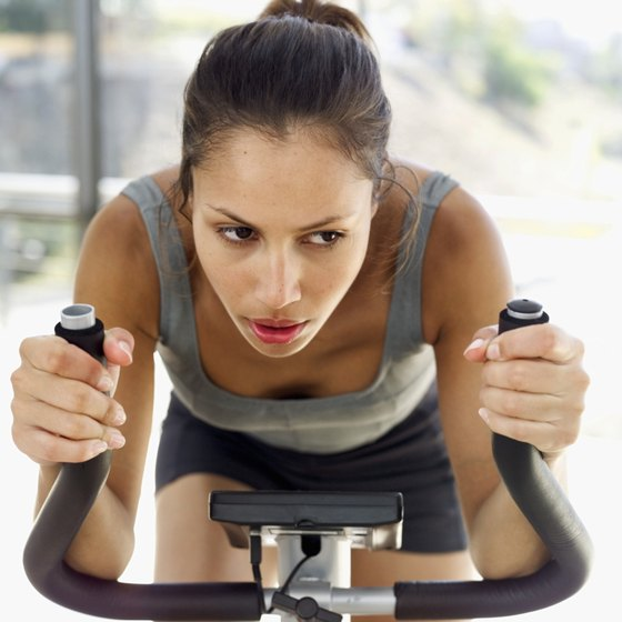 Add variety to your spinning workout with Tabata training.