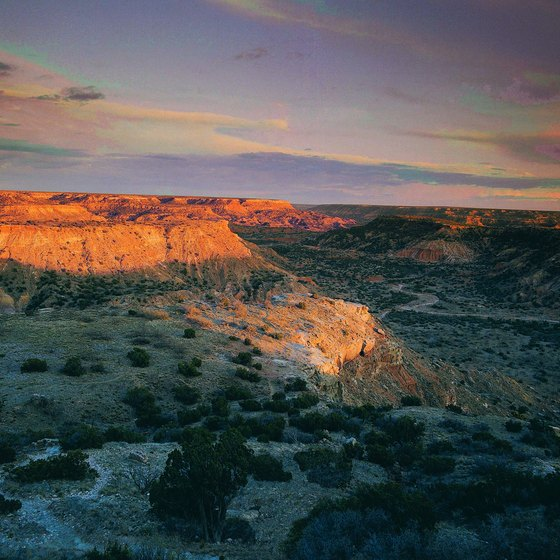 Palo Duro Canyon is more than 120 miles long.