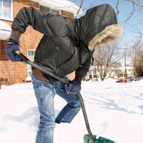 People who do not like to shovel their own driveways make the perfect clients.