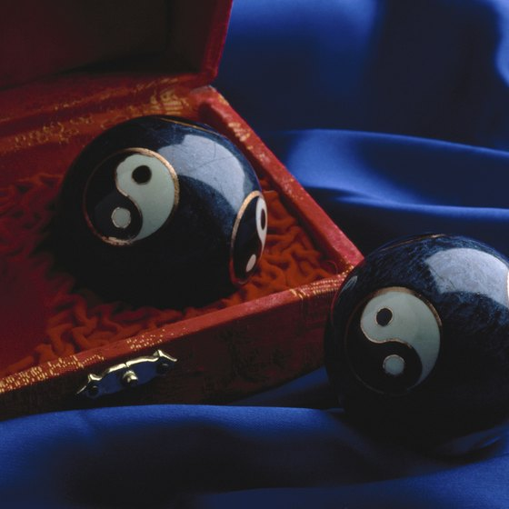 Baoding balls may help to relieve stress.