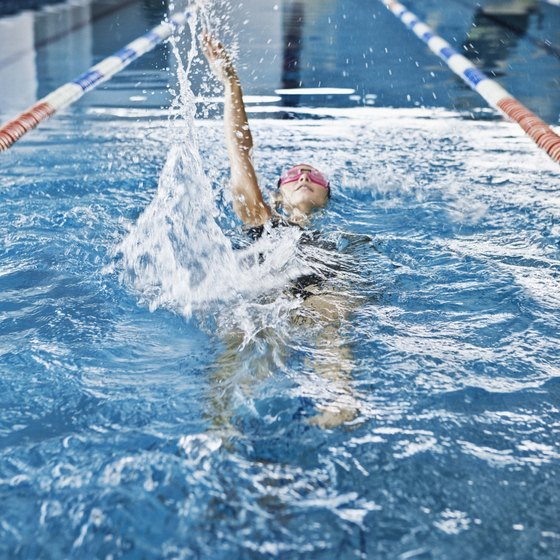 Good form will make you a faster swimmer.