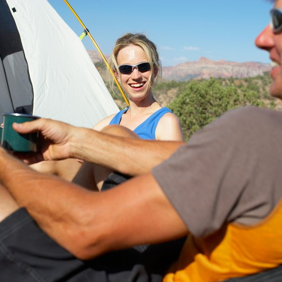 Many Arizona campgrounds enjoy mild winter climates.