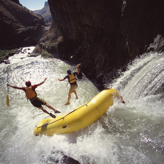 Whitewater rafting is just one of Arizona's best water activities.