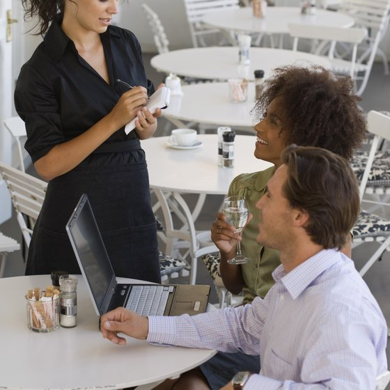 An attentive wait staff is crucial to meeting customers needs.