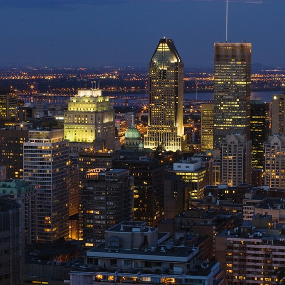 See the lights of Montreal at night during your visit.