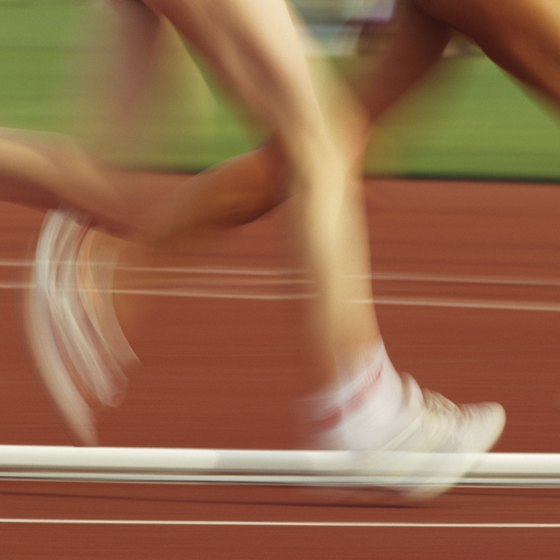 Track workouts teach your legs to move quickly.