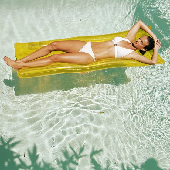 Relaxing in the sun won't help you lose weight.