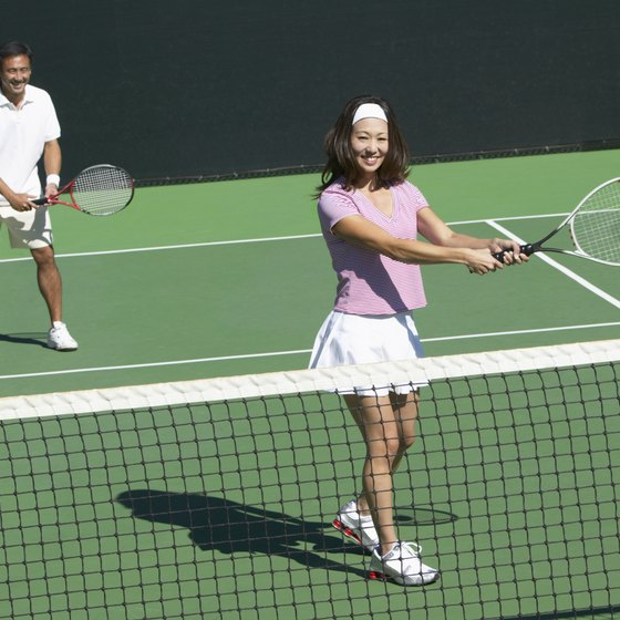 The right size racket can enhance your game.